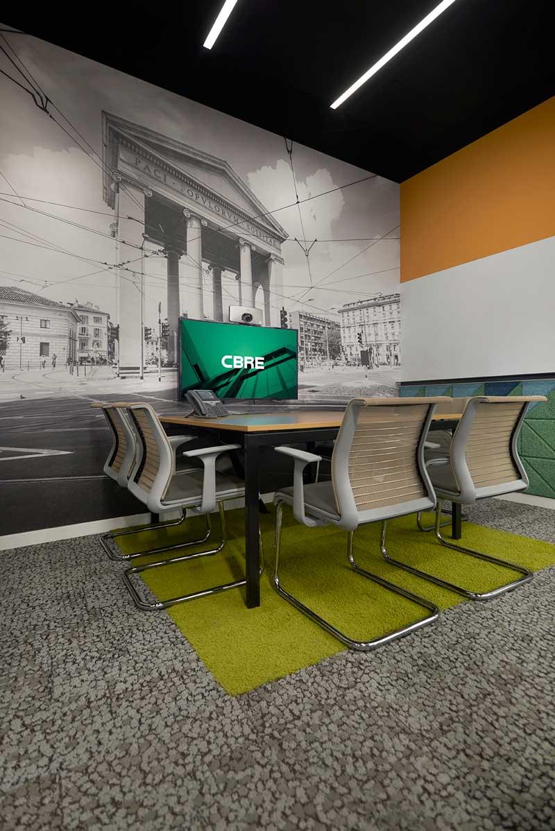 Nuovi uffici CBRE in piazza Affari a Milano