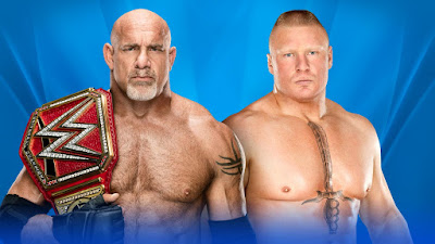 Universal Champion Goldberg vs. Brock Lesnar