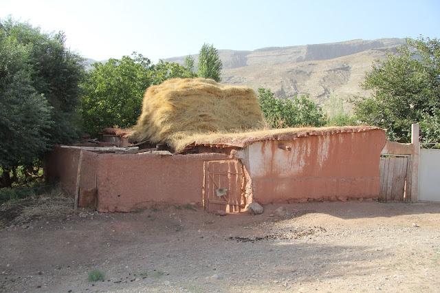 Ouzbékistan, Derbent, maison paysanne, © L. Gigout, 2012