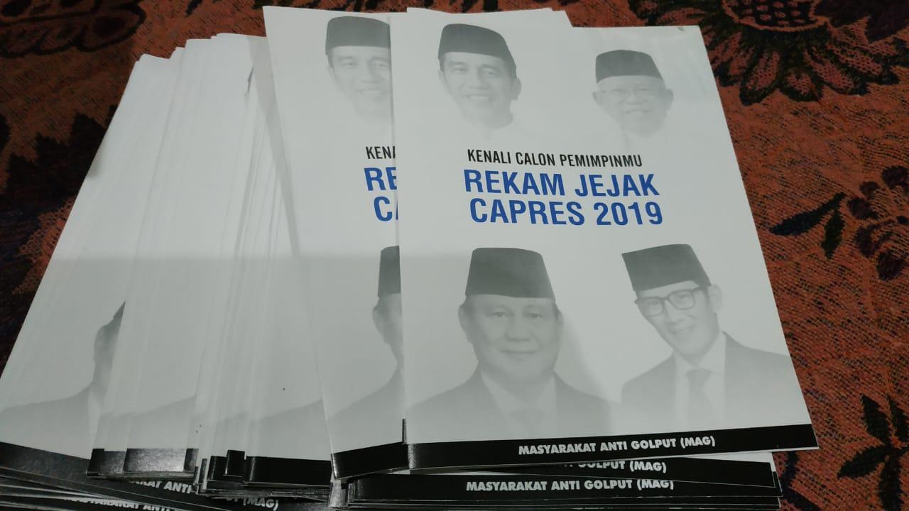 Ada yang Makin Panik, Brosur Fitnah Prabowo Disebar Melalui Minimarket