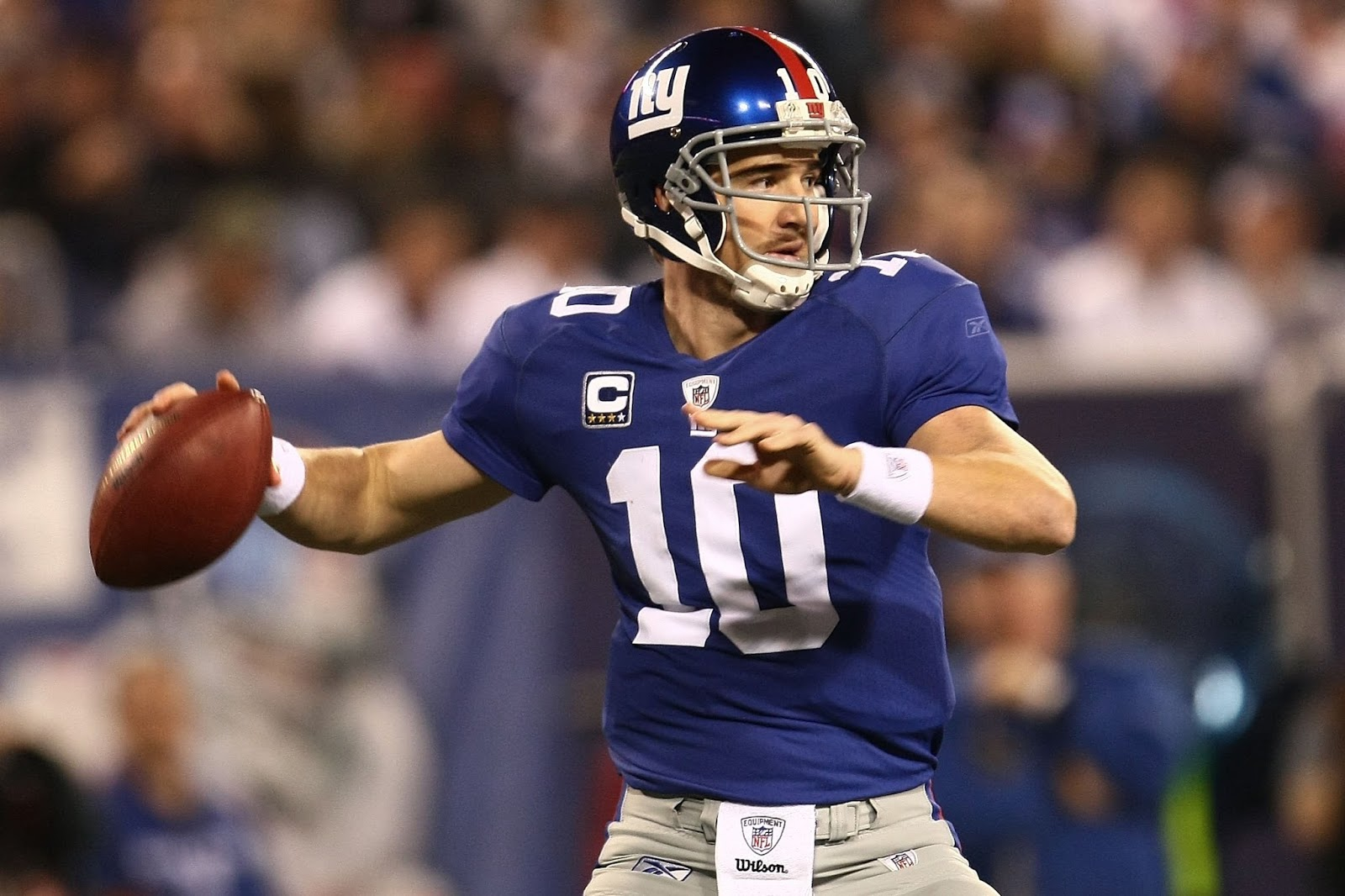 The Other Paper Eli Manning Has Anointed Portrait Of