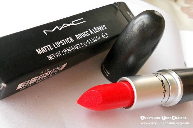 Molto MAC Lady Danger Lipstick : Swatch, Review, LOTD And FOTD  DT89
