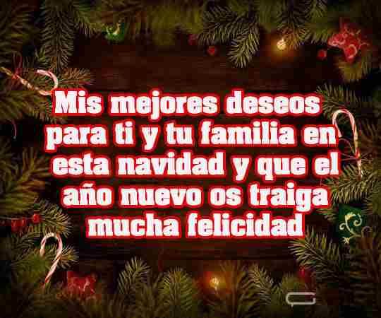 Mis mejores deseos de navidad para ti en este y todas las navidades por venir
