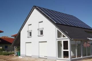 Nutzung Erneuerbarer Energien bei Neubauten