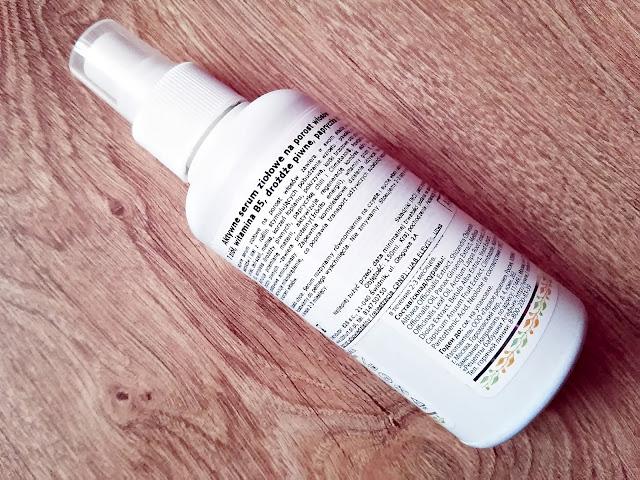 Pervoe Reshenie, Apteczka Agafii - Aktywne serum ziołowe na porost włosów - 7 ziół, prowitamina B5, drożdże piwne, papryczka chili, opis