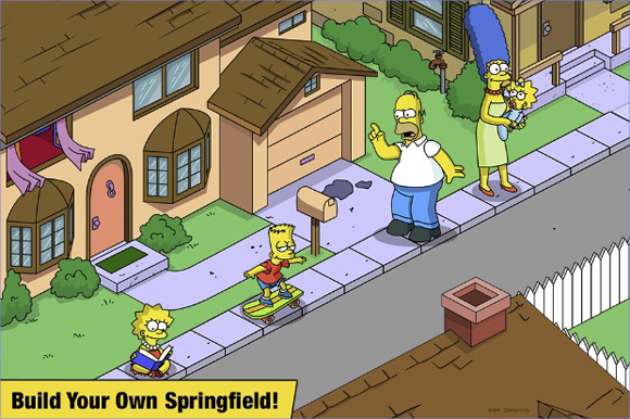 The Simpsons Tapped Out Mod Apk for Android