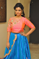 Nithya Shetty in Orange Choli at Kalamandir Foundation 7th anniversary Celebrations ~  Actress Galleries 085.JPG