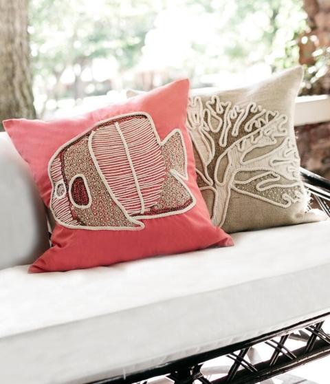 Matching Coastal Pillow Covers Sets