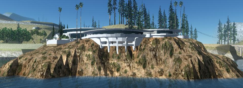 Stark mansion's exterior in GTA San Andreas