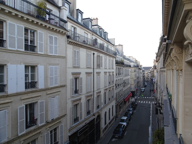view from Hôtel Trinité Haussmann