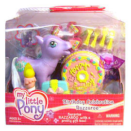 My Little Pony Razzaroo Accessory Playsets Birthday Celebration G3 Pony