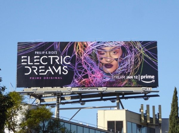 Philip K Dick Electric Dreams series billboard