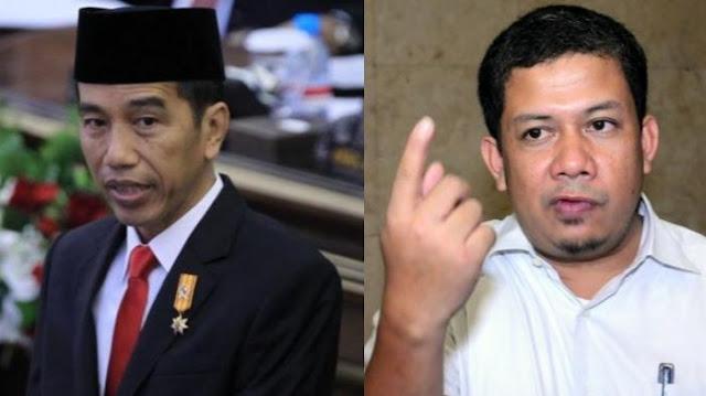Jokowi Ingatkan jangan Pilih Pemimpin Coba-coba, Fahri Hamzah: Prabowo Ikut Bawa Dia Ke Jakarta