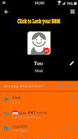 BBM MOD YK-BBM Orange Dark V3 Versi 2.9.0.49 Apk