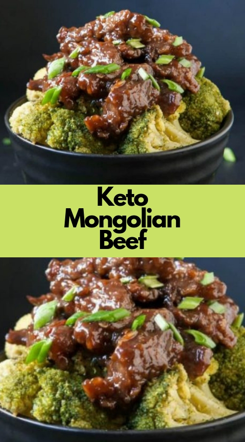 Keto Mongolian Beef #beef #ketogenic #lowcarb #dinner