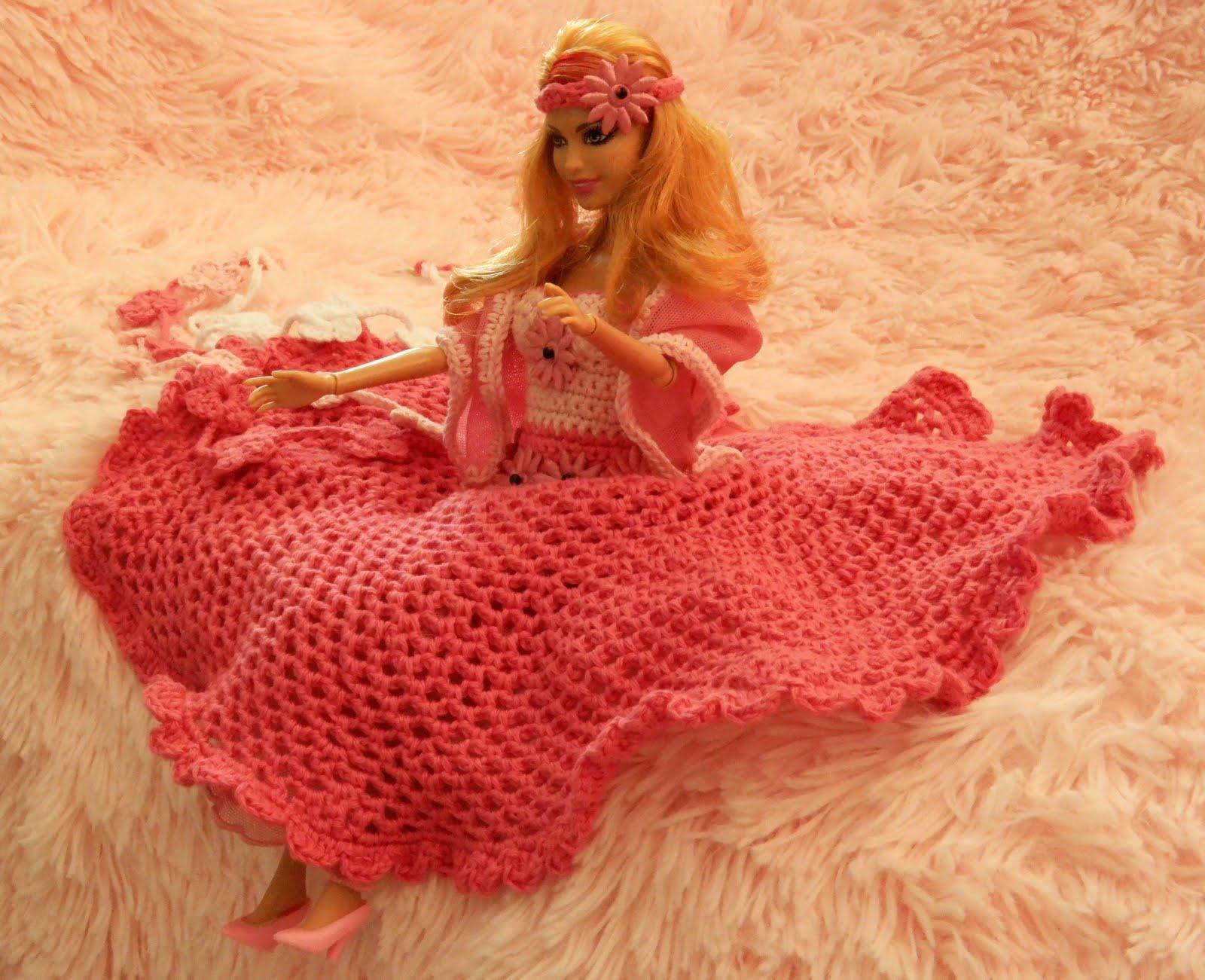 Feestjurk Voor Barbie Haakpatroon Gratis