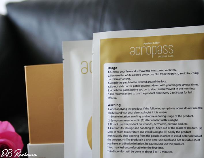 Skinova AcroPass Hyaluronic Eye Patches