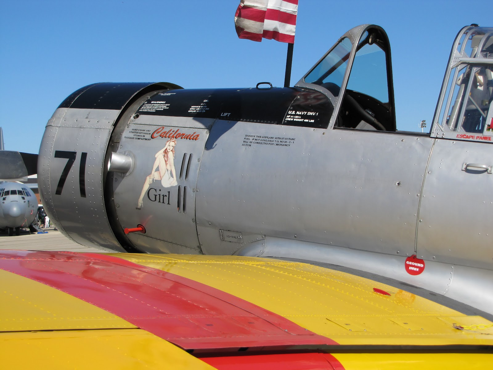 The Aero Experience Nose Art And Names Personalizing Our
