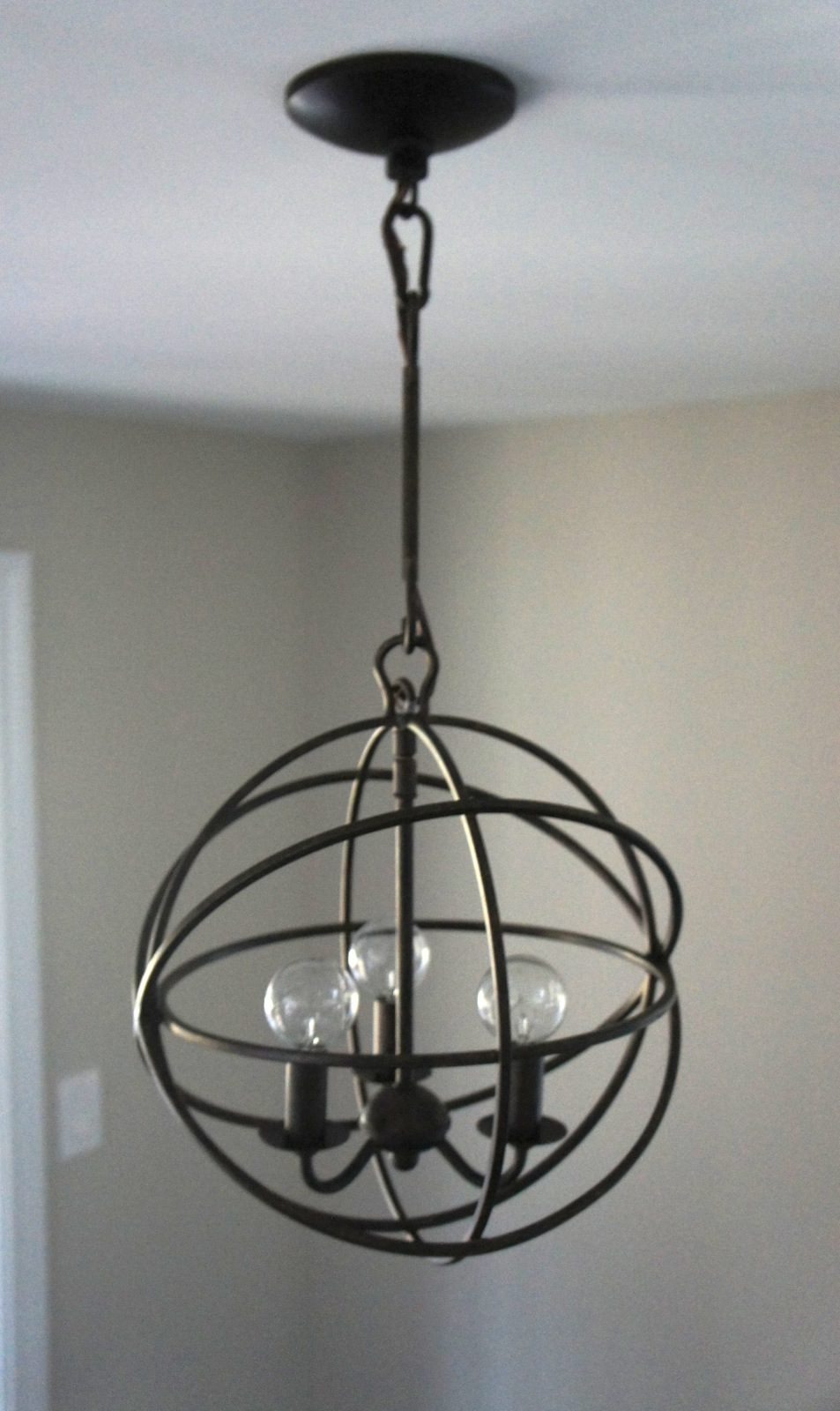 Orb Chandelier Home With Baxter: Orb Chandelier