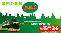 Logo Buitoni Noodles ti regala subito un buono sconto per le tratte FlixBus