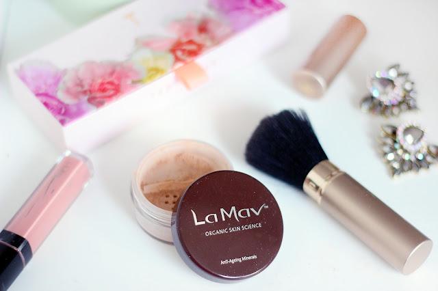 la mav organic cosmetic cruelty free natural ingredients make up review