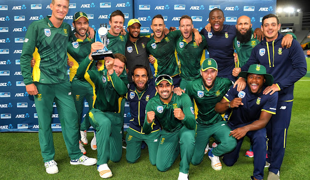 WC 2019 South Africa Team Squad