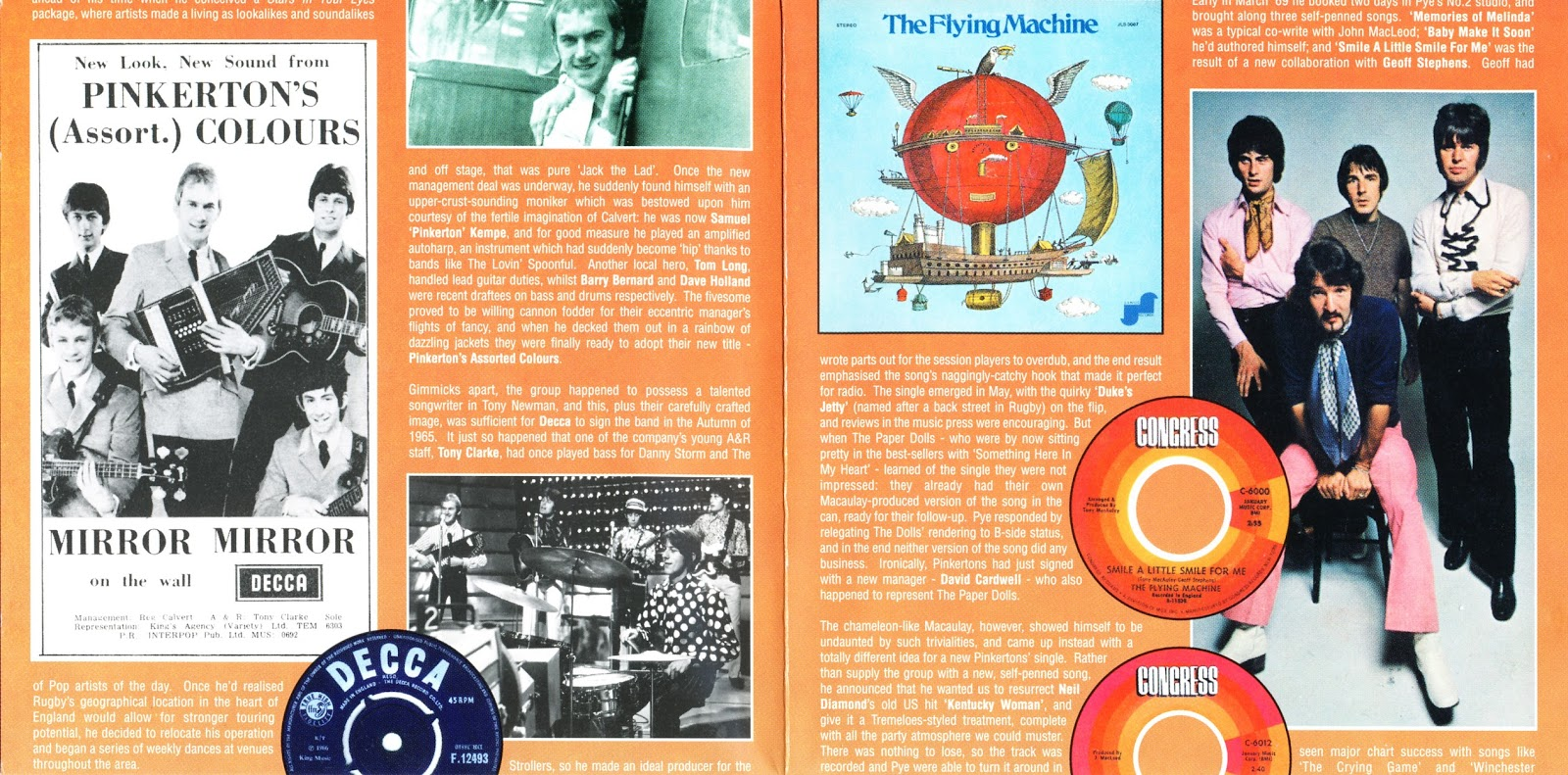 Orange pop records s profile hear the world s sounds - That Record Mirror Mirror A Band Original Written By Tony Newman Became A No 8 British Hit In 1966 They Had One More Minor Chart Entry