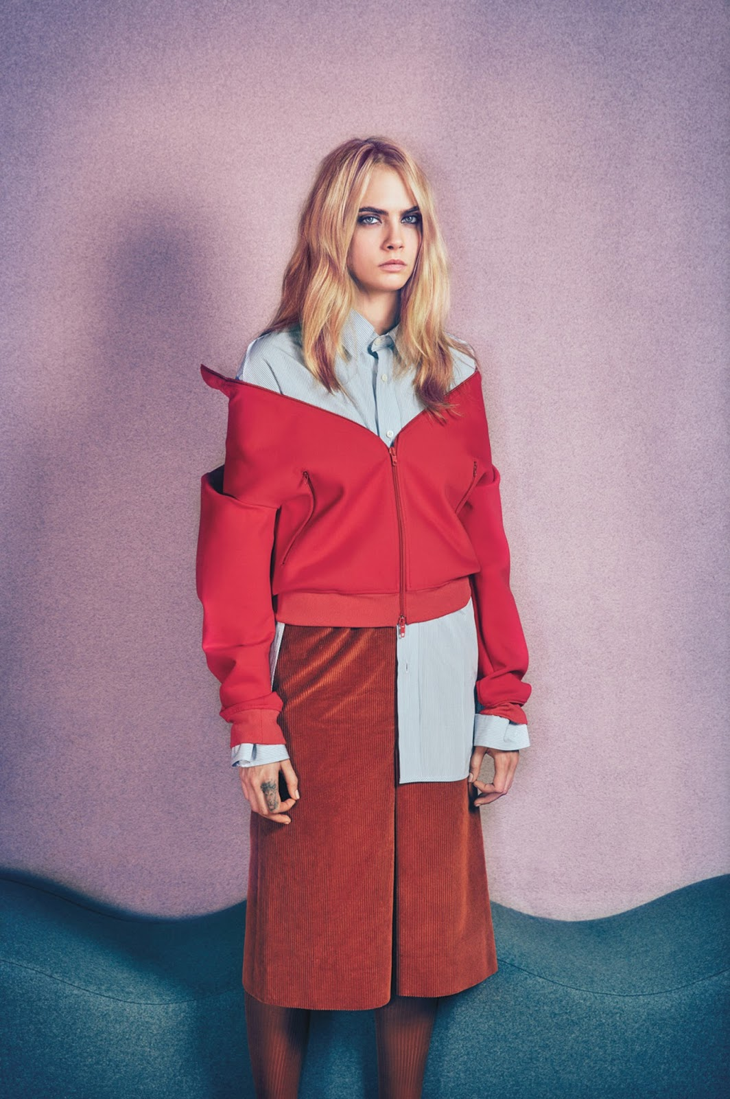 "Cara Delevingne: ""My Earliest Memory is of Cutting Myself"""