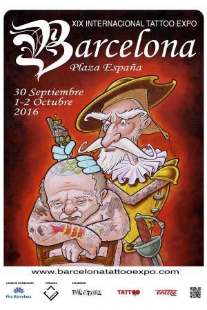Spaintattoos Convencion De Tattoo En Barcelona 2016