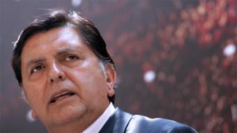 Alan García el hombre más investigado del Perú