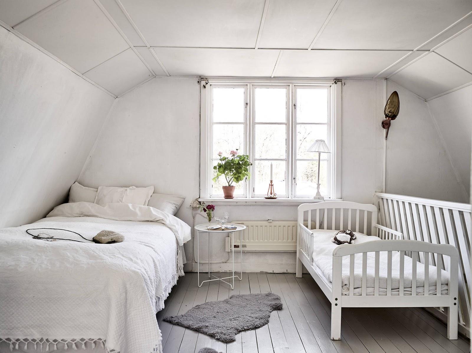 sypialnia w stylu rustykalnym, sypialnia w stylu wiejskim