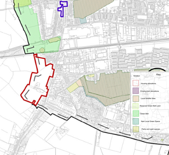 Burton green coventry local plan cromwell lane for Coventry plan