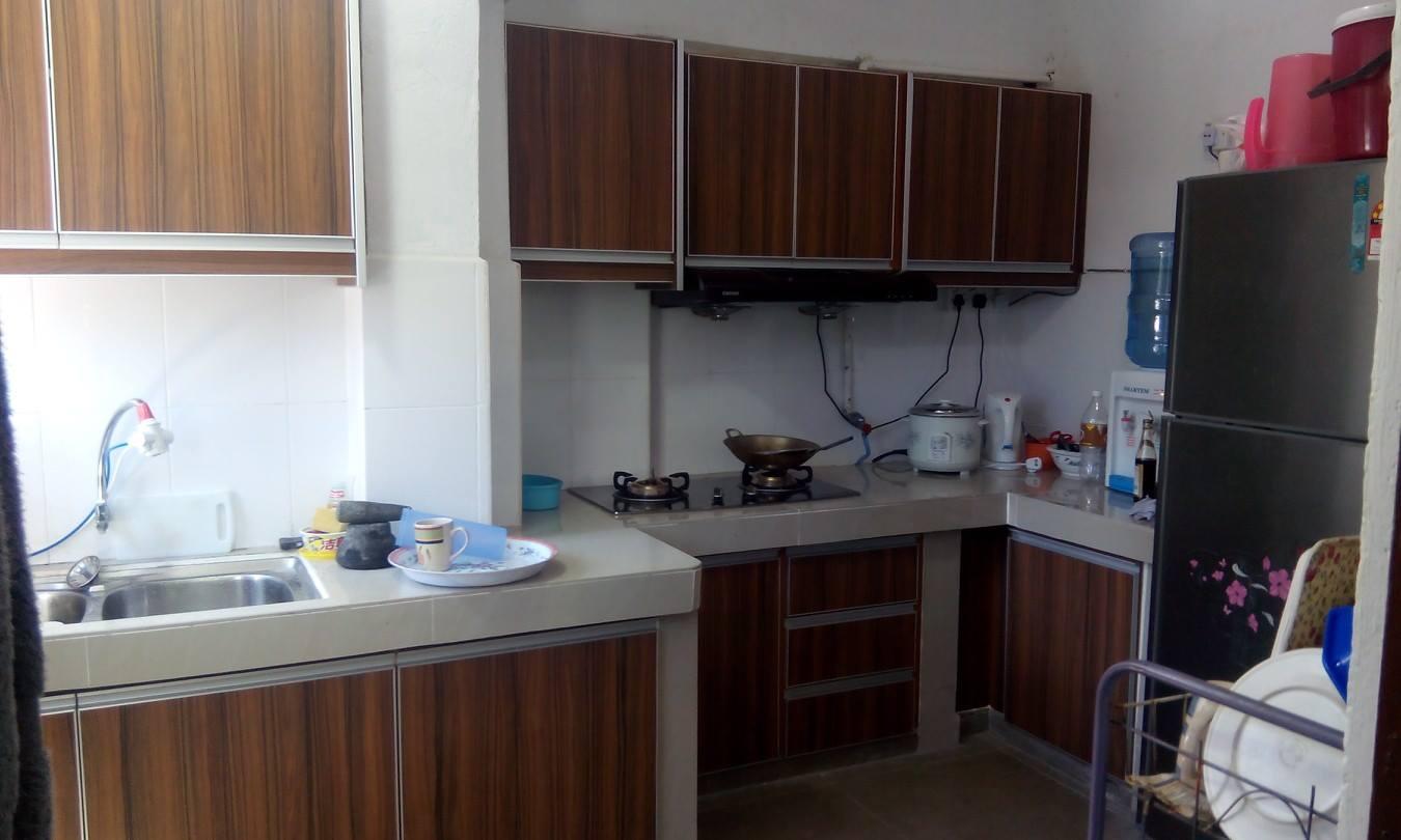 kabinet dapur terus dari kilang kabinet dapur januari 2016