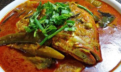 Resep Masakan Padang Gulai Kepala Ikan