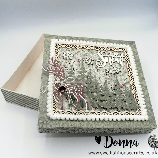 Maja Design Christmas Season Covered 3D box | By Donna