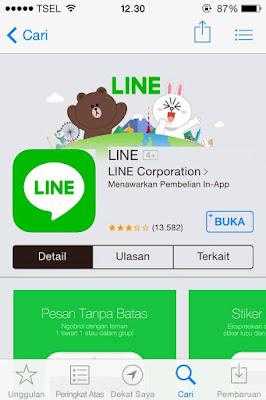 Mengenal LINE dan Cara Mendaftar Akun LINE Dengan Mudah dan Cepat 2018