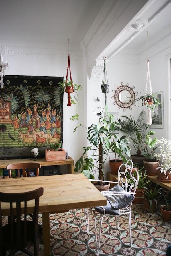 salón estilo ecléctico