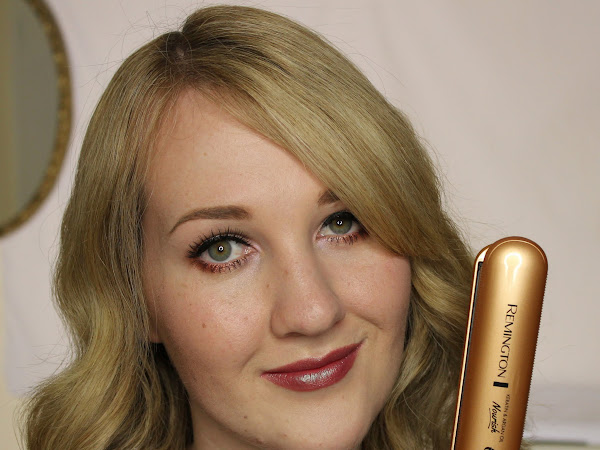 HAIR | Remington Keratin & Argan Nourish Straightener Review