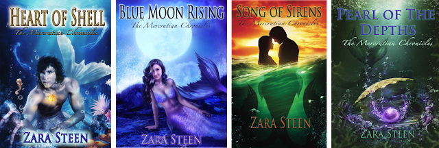 The Mercrutian Chronicles by Zara Steen on Amazon