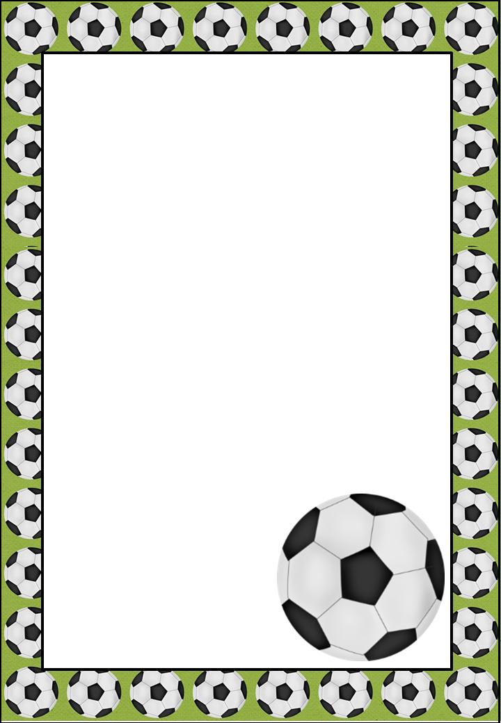 Marcos invitaciones tarjetas o etiquetas del futbol para for Paginas decoracion online