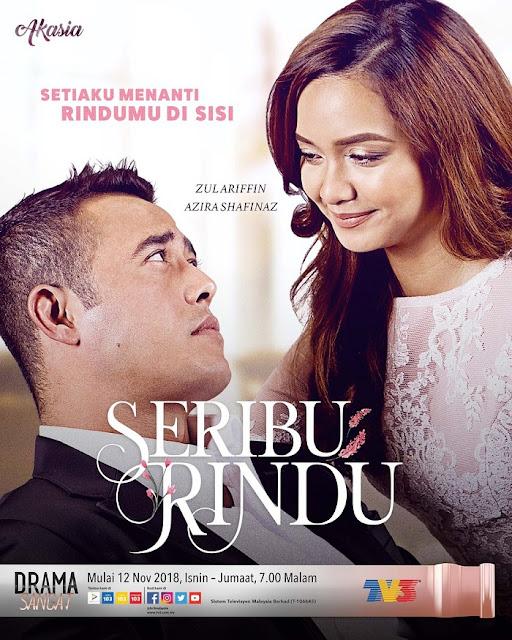 [Sinopis | Pelakon] Drama Seribu Rindu - TV3