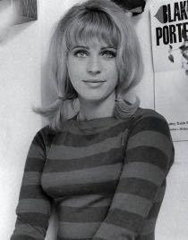 Pauline Boty, by John Aston for Men Only (1963)