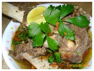 Resepi Sup Tulang Ala Thai Yang Sedap