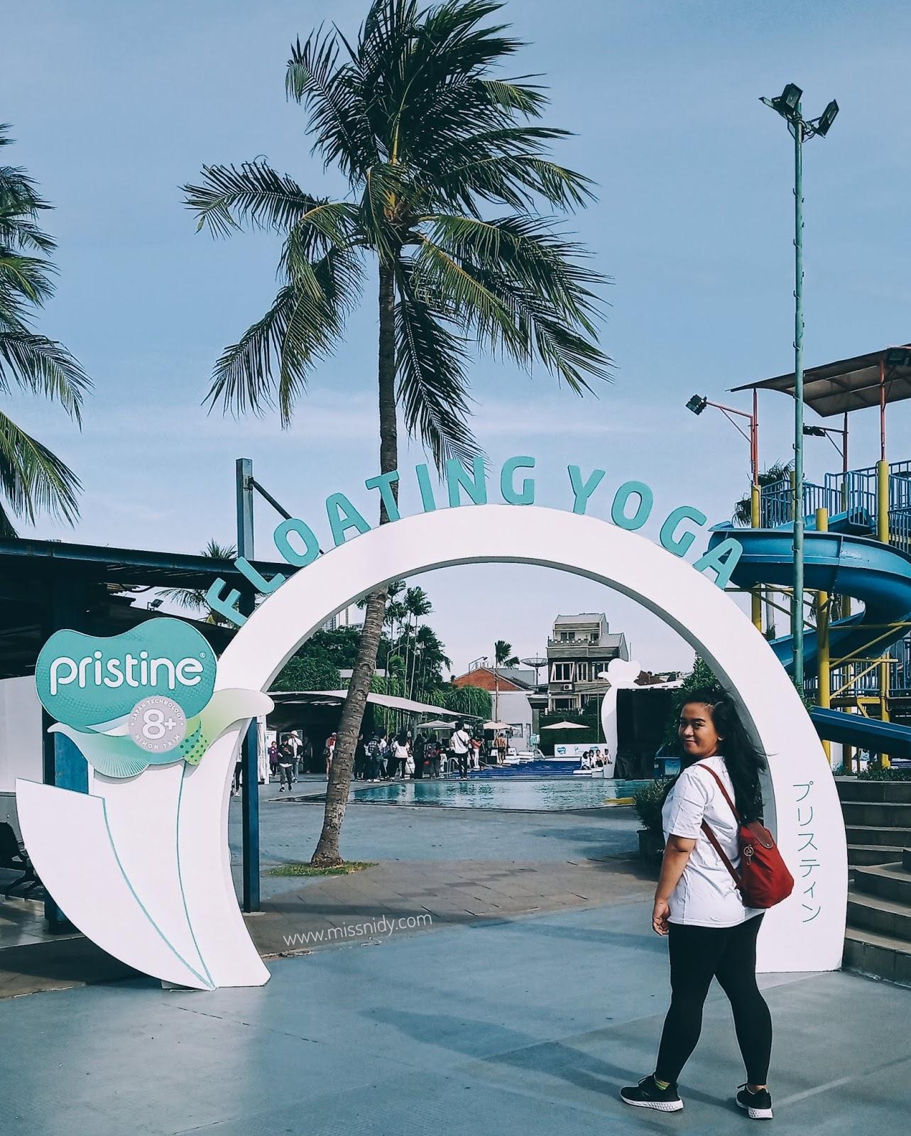floating yoga pertama di indonesia