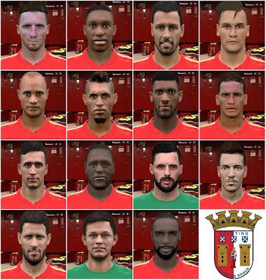 S.C. Braga facepack