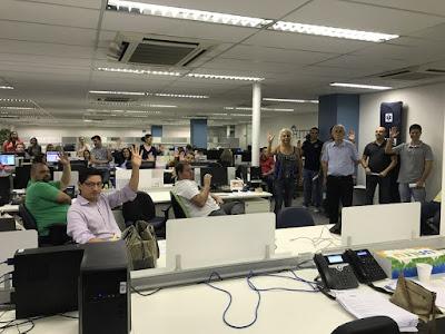 Com sede em Campinas, Hitss reúne funcionários de São Paulo para apresentação da PLR