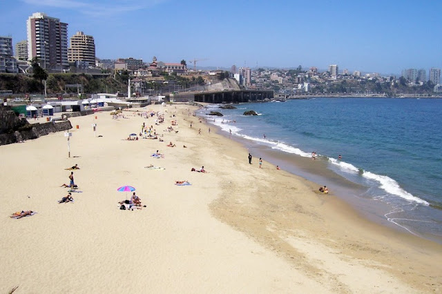 Visitar a Praia Caleta Abarca em Viña del Mar