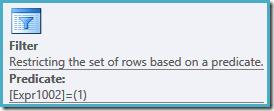 Filter properties