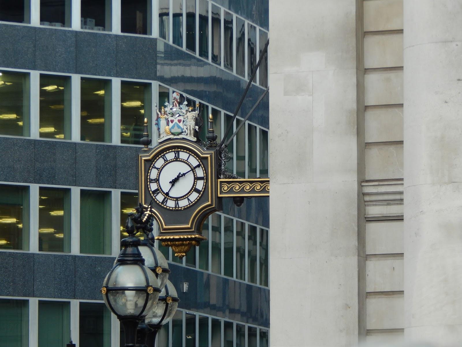 Hodiny v Londýně
