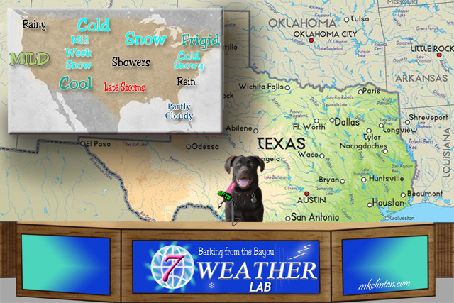 Paisley the Weather Lab weather report